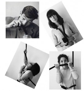 L'association Populariz'arte. Photomontage réalisé par l'association (en haut: Julio Cortozar et Sarah; en bas: Manon et Veronica).