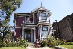 """La maison des soeurs Halliwell dans """"Charmed"""", vous vous souvenez ? (Photographie : Baptiste Roussel)"""
