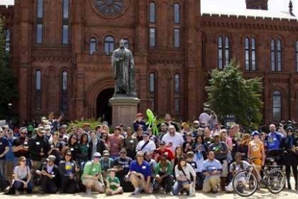 Un rassemblement à Washington dans le cadre d'un événement organisé par Google  Crédits Daphne Domingo (Daphify) • CC BY 2.0