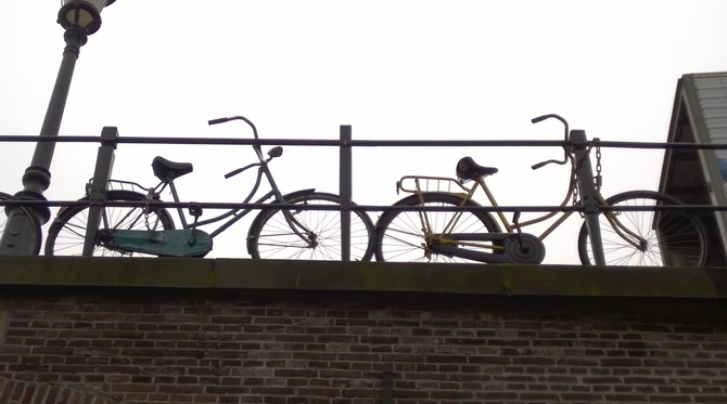 Les vélos d'Utrecht