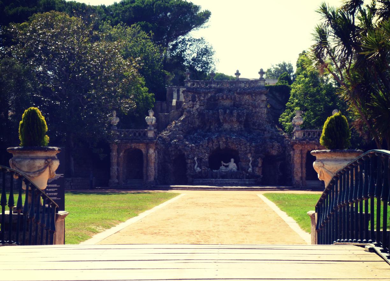 Jardins du Palacio Marquês de Pombal. (Crédits : CF)