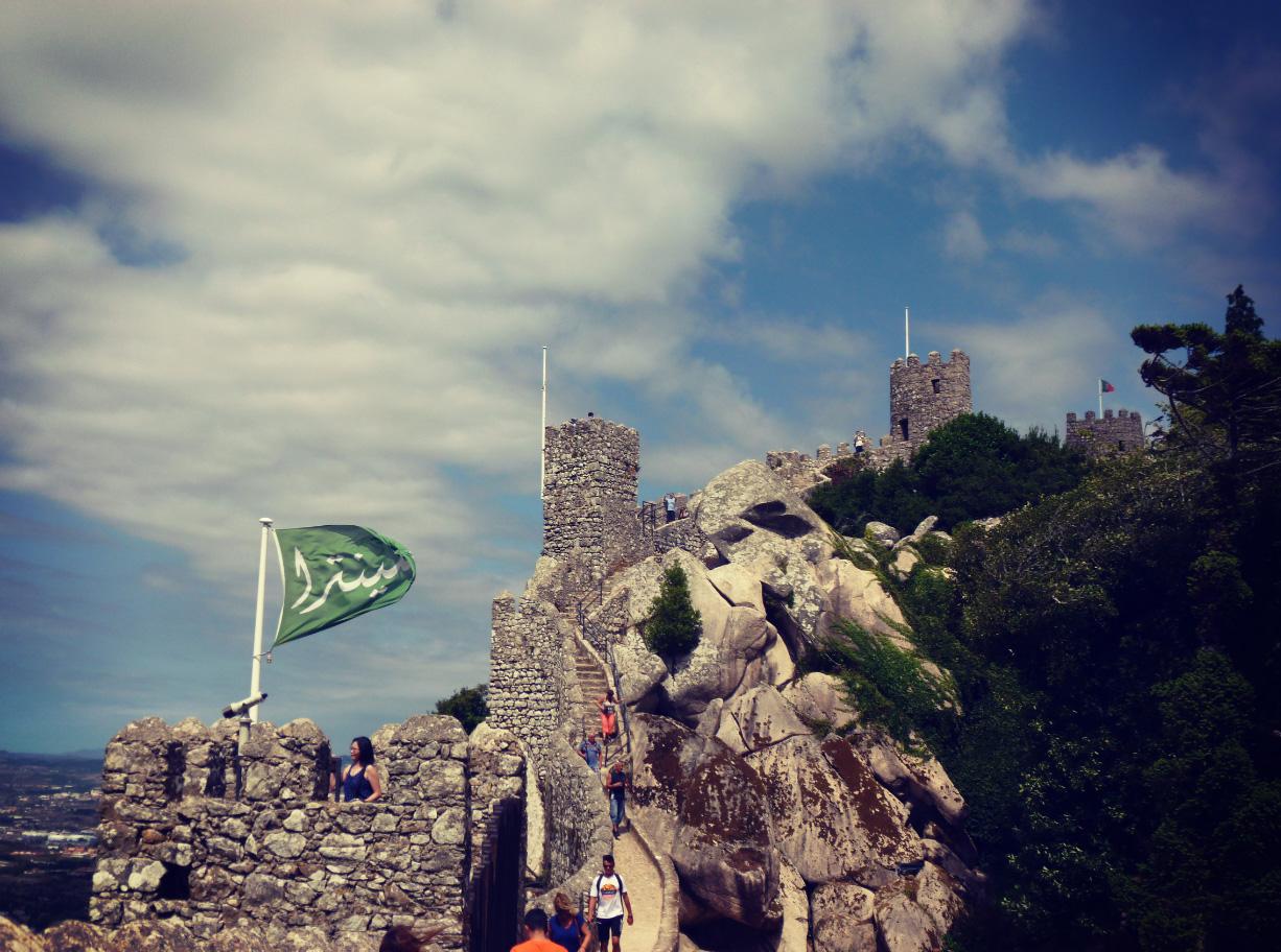 Castelo dos Mouros à Sintra. (Crédits : CF)