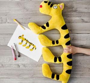 La peluche imaginée par You-Chen Wu, 6 ans, de Taiwan. (c) IKEA.