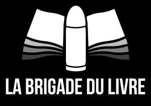 Logo de la Brigade du Livre par Sylvain Therras