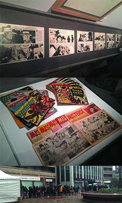 L'exposition Hugo Pratt à l'Espace Franquin