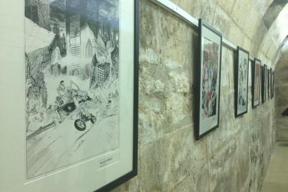 Des tableaux en hommage à l'auteur japonais