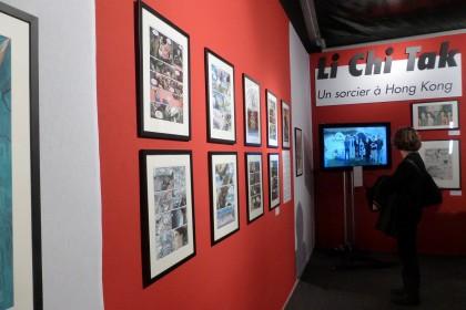 L'exposition Li Chi-Tak au pavillon Asie du FIBD