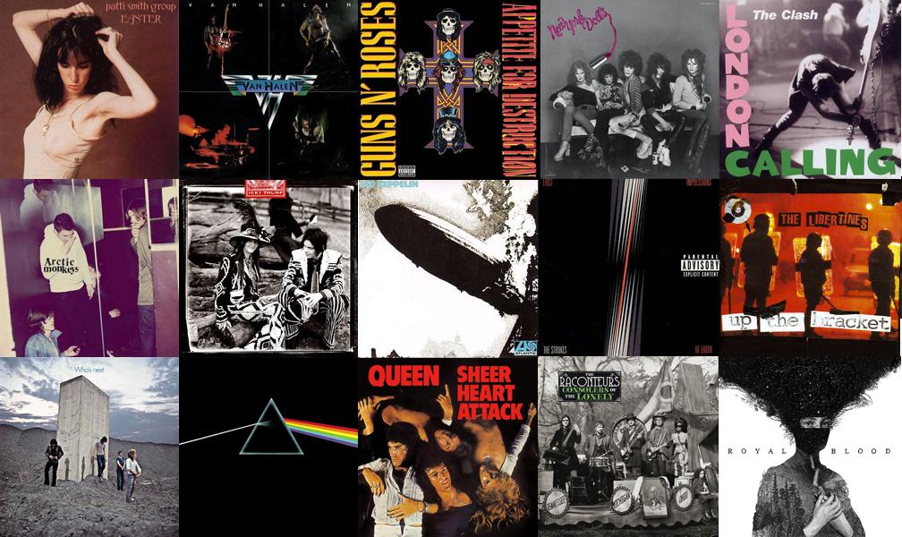 15albumsrock
