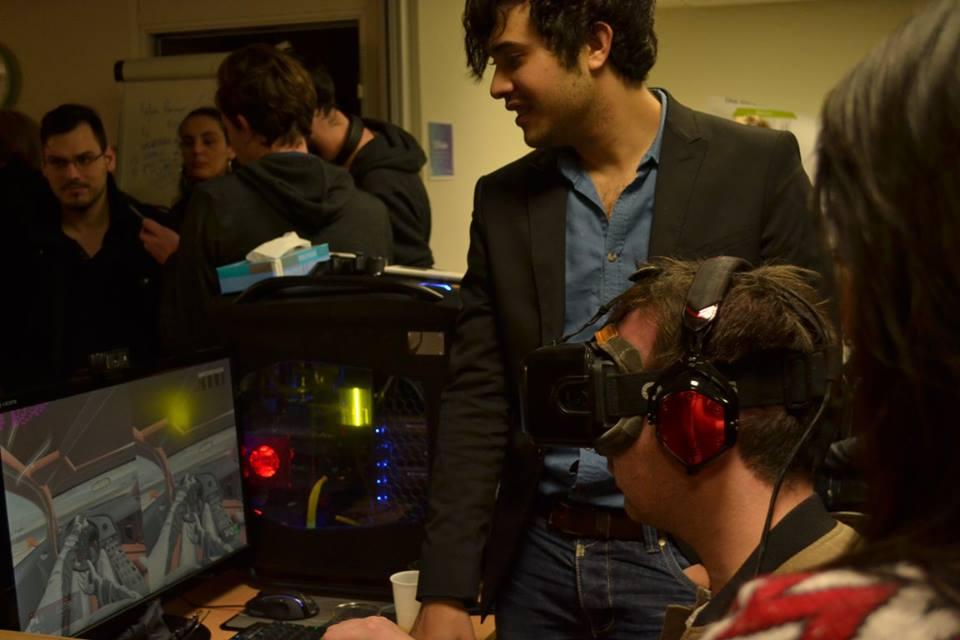 Le test de l'Oculus sur un jeu de course automobile