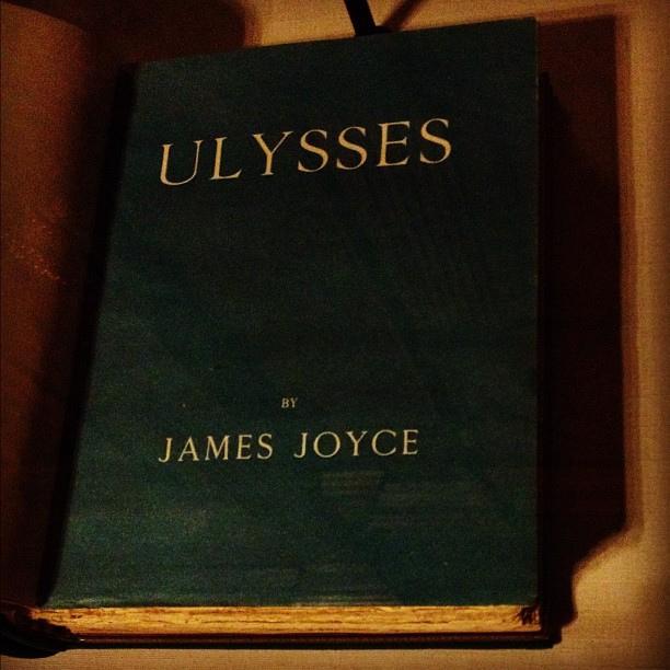 Ulysses de James Joyce. © Yvette Gauthier