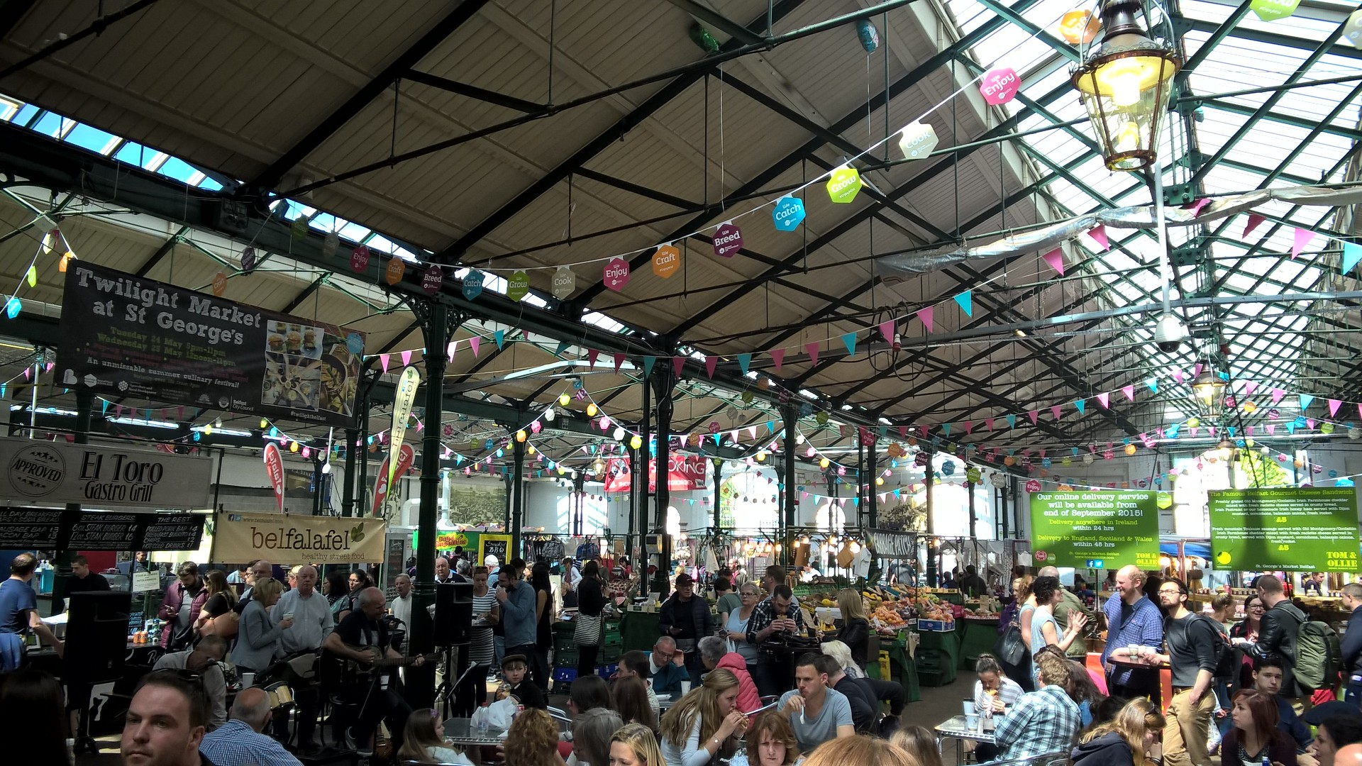 Le marché couvert Saint-Georges de Belfast
