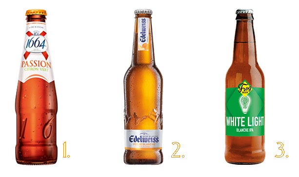bières fruitées