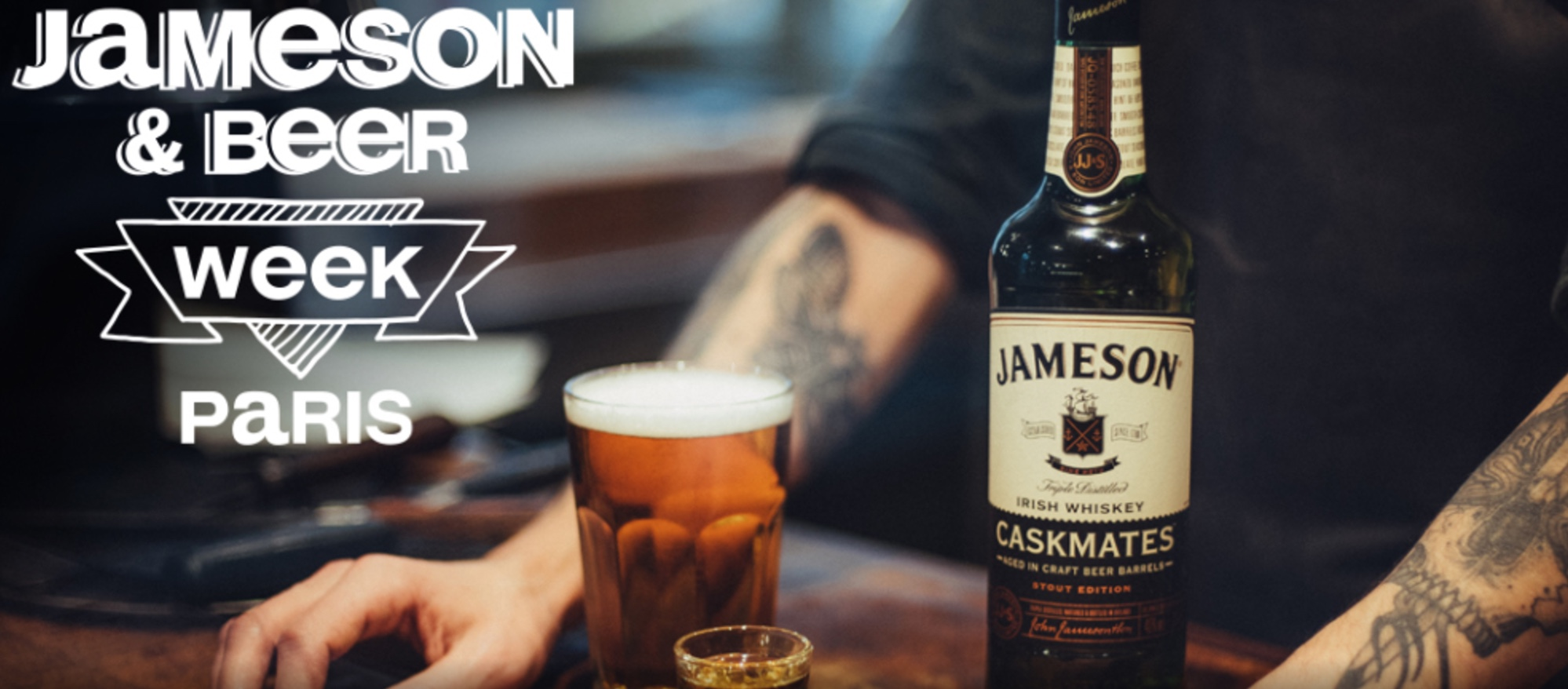 jameson beer & whiskey