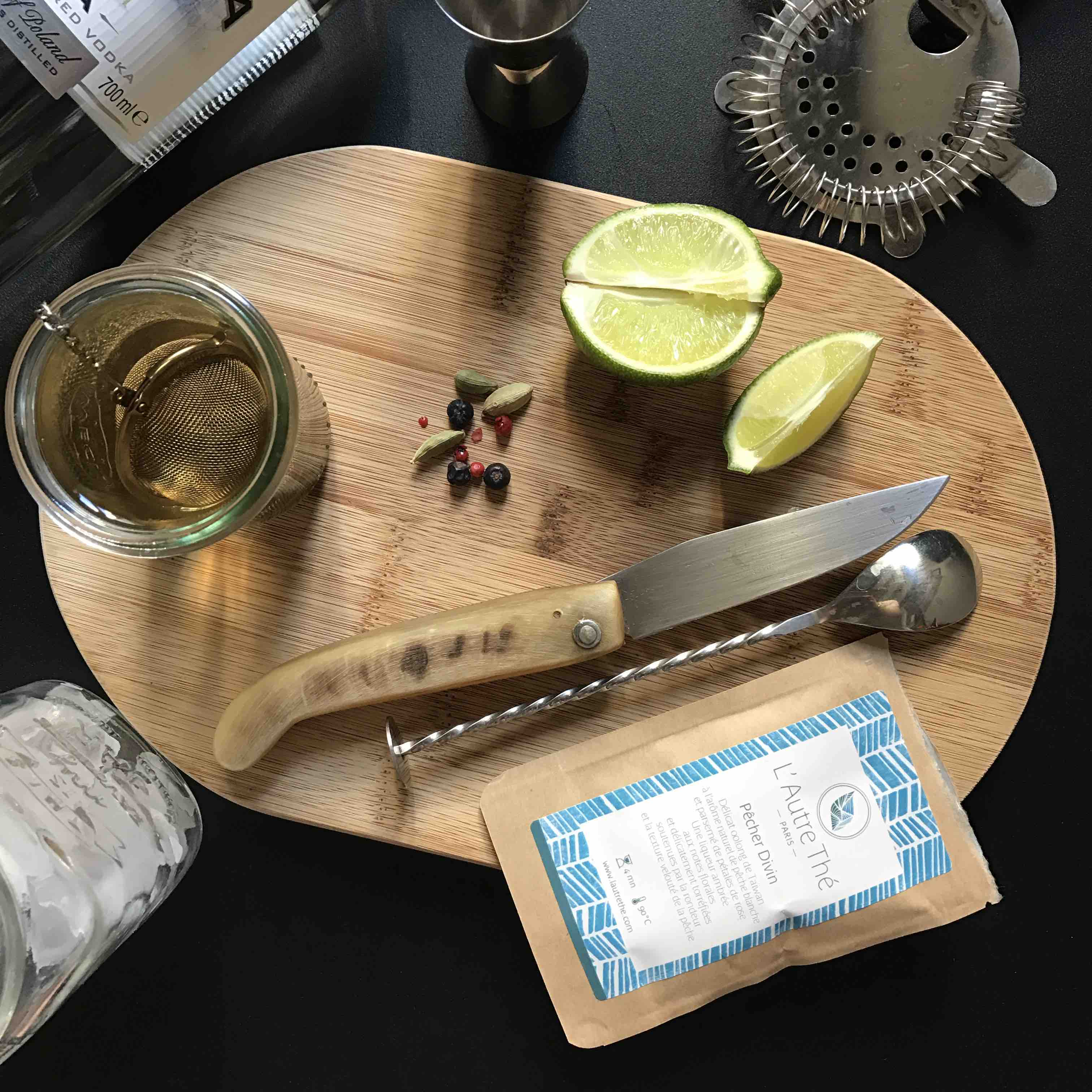 cocktail zubrowka