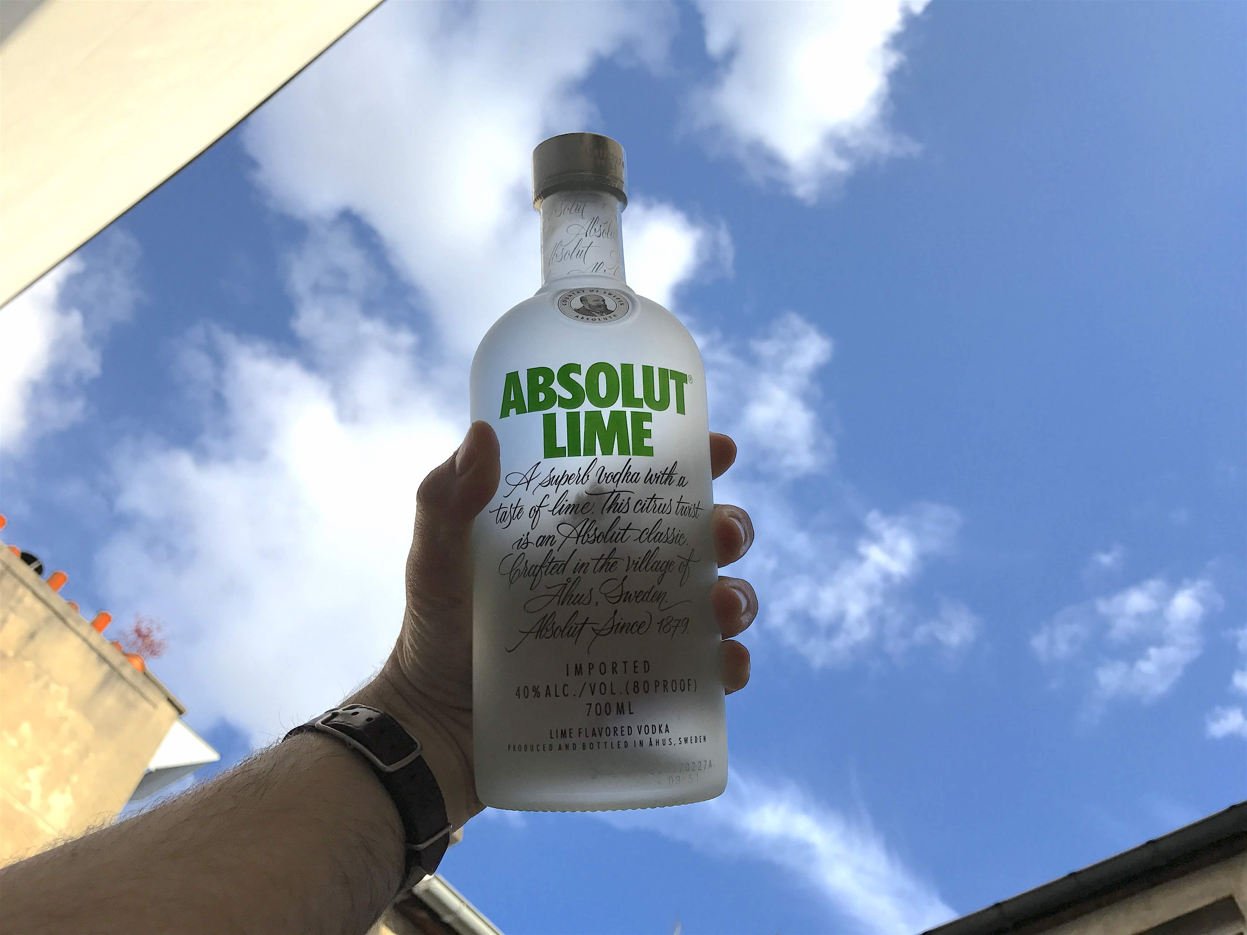 cocktail absolut lime