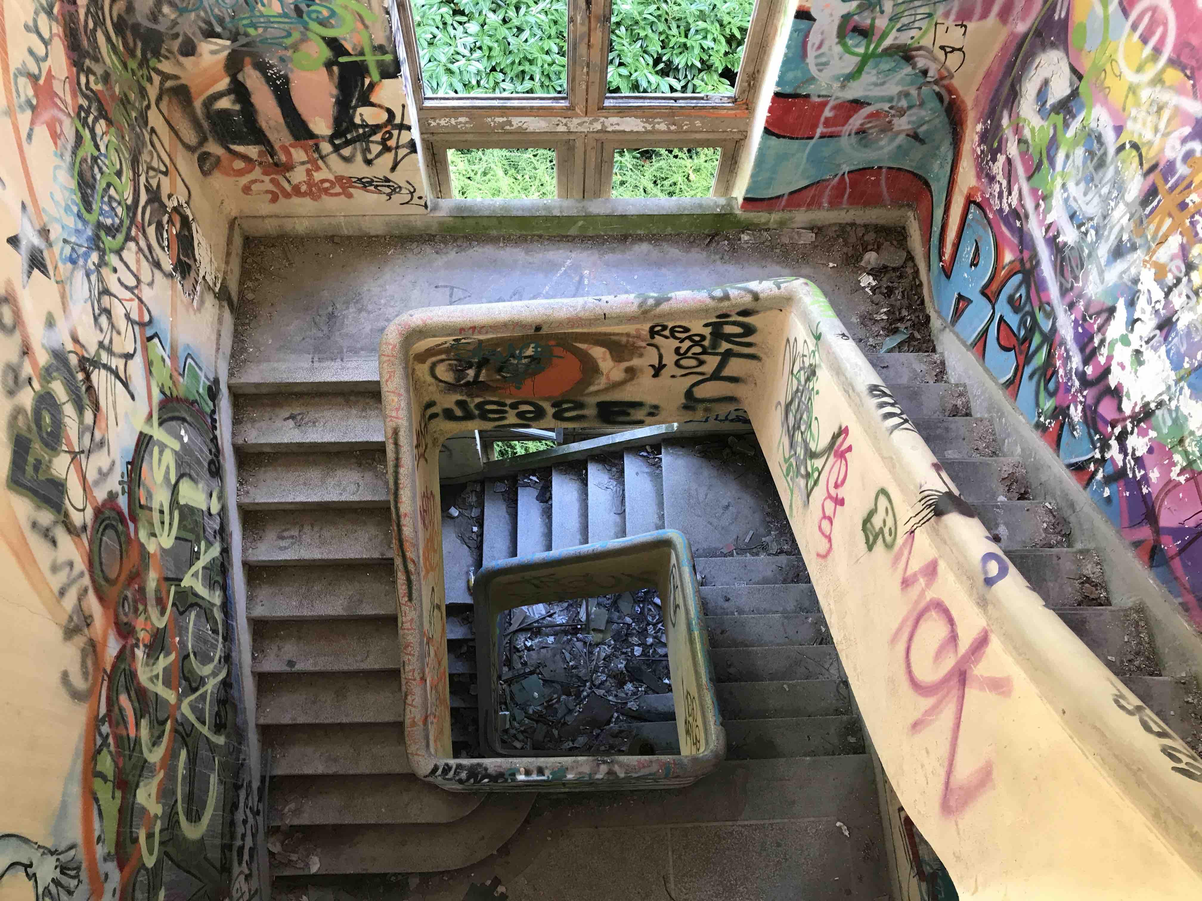 urbex sanatorium du vexin