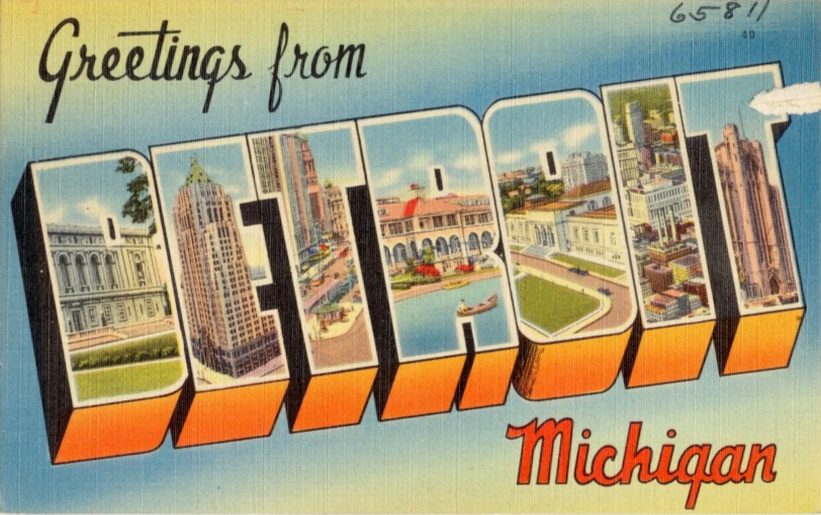 la revue y Detroit